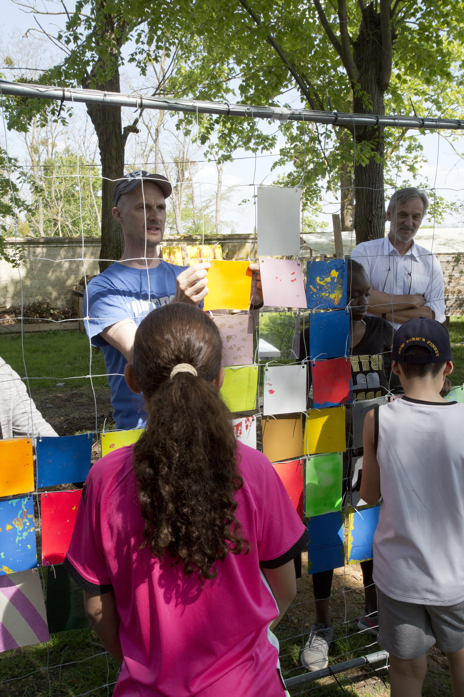 Travail avec les jeunes sur le prototypage du projet artistique